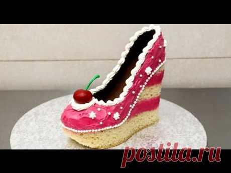 Shoe Cake Idea - How To Make by CakesStepbyStep