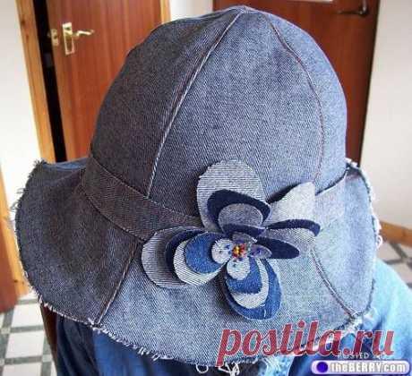 Панамки и шляпы из старых джинсов (Шитье и крой) | Журнал Вдохновение Рукодельницы