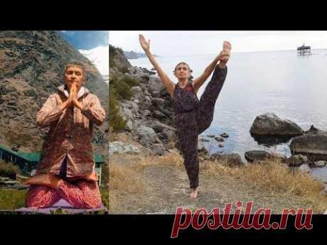 Татьяна Марина, 70 лет, современный эксперт в йоге (2017) - YouTube