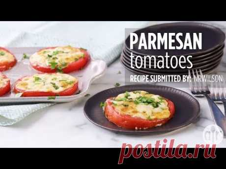 How to Make Parmesan Tomatoes   Side Dish Recipes   Allrecipes.com