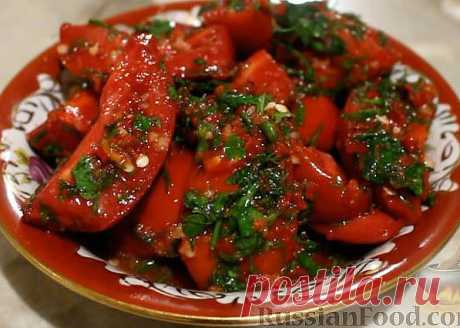 """Tomatoes in Korean - the objedenye is simple! Surely prepare! Put """"Класс!"""" and the recipe will remain on your page!"""