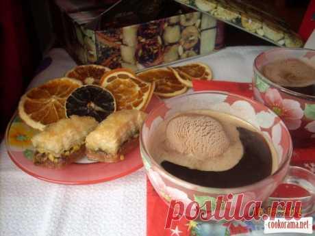 Кофе с медом и мороженым / Кофе / Кукорама - вкусные рецепты!