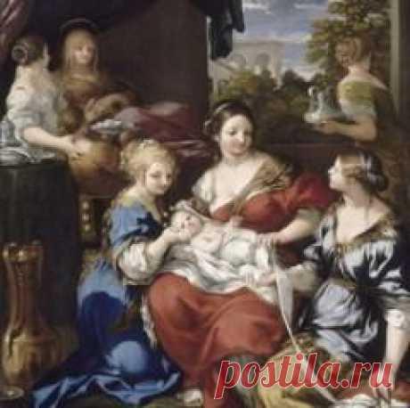 Сегодня 16 мая в 1669 году умер(ла) Пьетро Да Картона-ОБРУЧЕНИЕ СВ.ЕКАТЕРИНЫ
