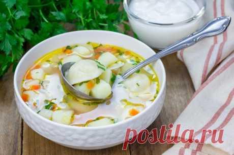 Суп с пельменями — Sloosh – кулинарные рецепты
