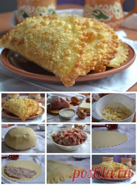 Лучшие кулинарные рецепты: Чебуреки на заварном тесте