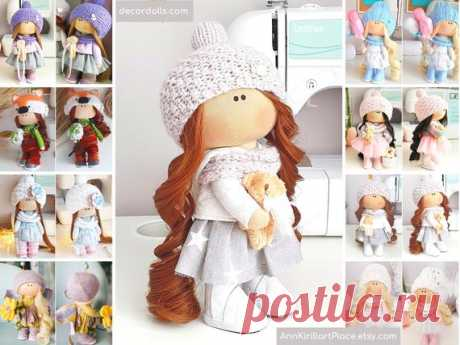 Tilda Custom Doll Doll Gift for Girl from Mom and Grandma | Etsy Hello, dear visitors! This is handmade tilda doll created by Master Elina (Ufa, Russia). Doll is made by Order. Order processing time is 5-7 days.  All dolls on the photo are mady by artist Elina. You can find them in our shop searching by artist name. Here are all dolls of artist Elina: