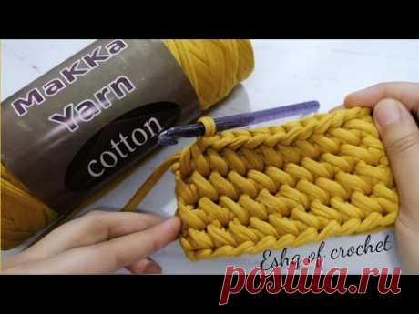 Вязание крючком нового 3d стежка для сумки, клатча, одежды