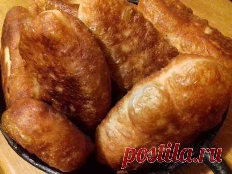Пушистые пирожки-лаптёхи — Чудо поваренок