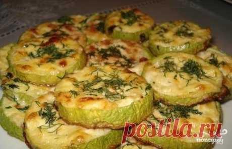 Кабачки с чесноком в духовке - пошаговый рецепт с фото на Повар.ру