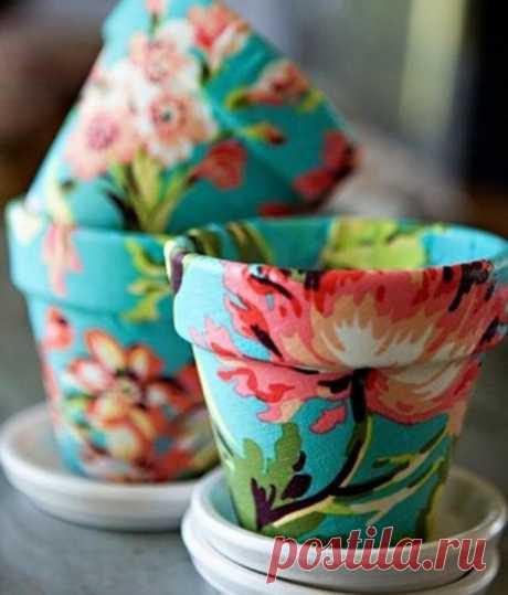 Idea for a pot decor