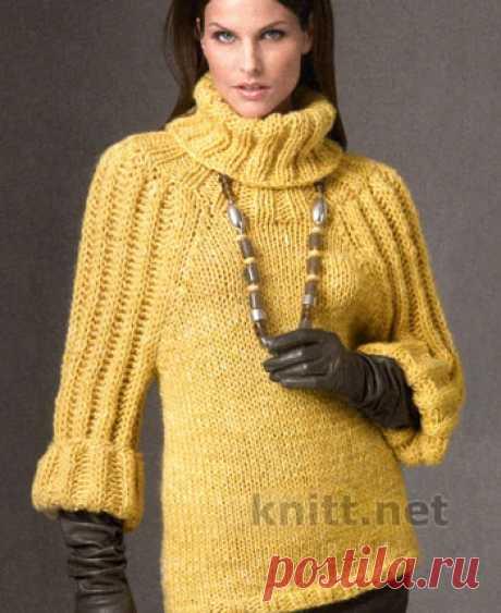 El jersey amarillo del hilado gordo