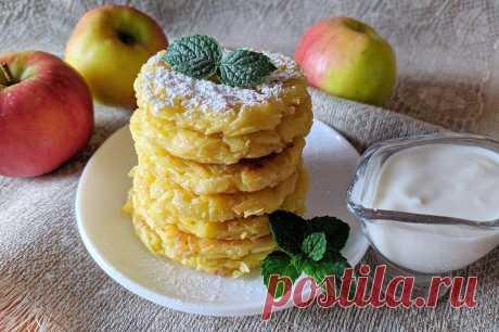 Яблочные драники: необычный десерт всего из 5 ингредиентов   Рекомендательная система Пульс Mail.ru