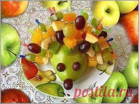 Подаём фрукты интересно