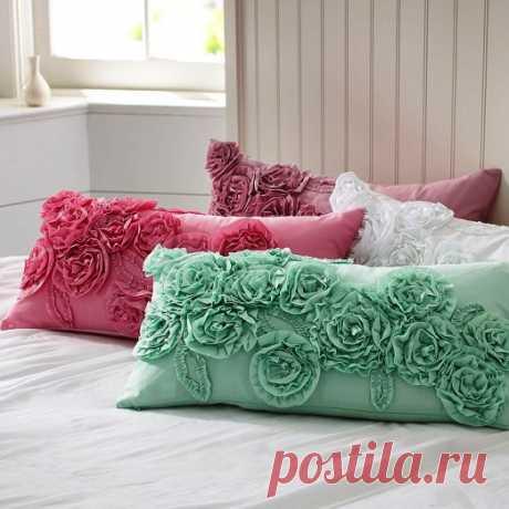 Роскошные подушечки для интерьера