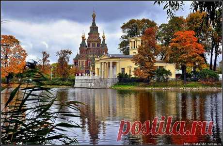 """Осень в Петергофе..../""""На зареве осеннего заката…""""."""