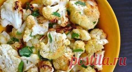 ПП-гарнир: цветная капуста с чесноком и сыром - Советы для женщин