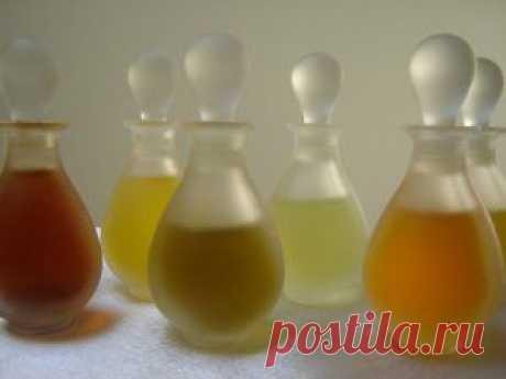 Las recetas de los concentrados de perfumería