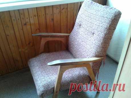 🌞Реставрация старого кресла. У мужа появилось новое, вернее, хорошо забытое старое хобби | Пенсионерам не сидится | Яндекс Дзен