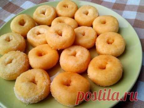 Как приготовить пончики - рецепт, ингредиенты и фотографии