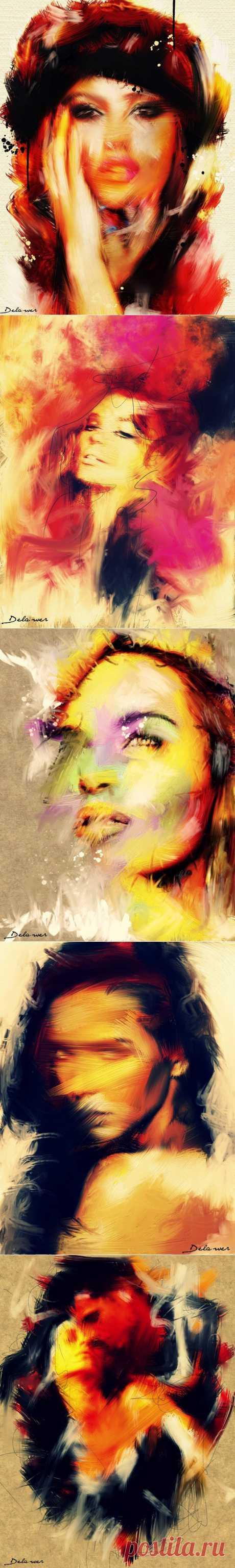 Творчество художника Delawer Omap.