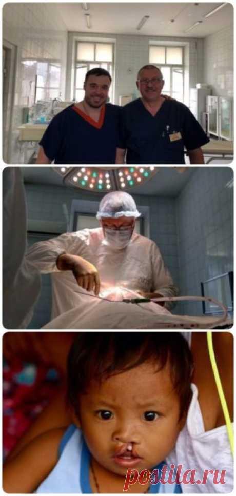 Каждый год Новосибирский хирург берет отпуск и улетает бесплатно оперировать детей