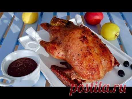 Это блюдо, достойно быть на Вашем столе!  Вкус для наслаждения. Праздничное блюдо из утки. Рецепты.