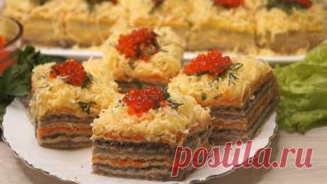 Закусочный торт | Готовим с Калниной Натальей | Яндекс Дзен