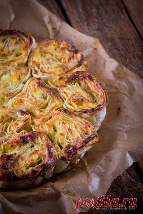 Соленый пирог из лаваша - Любопытный повар — LiveJournal
