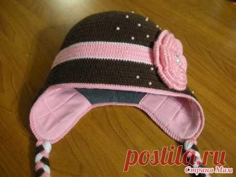 МК подкладка в вязаную шапку. - Страна Мам