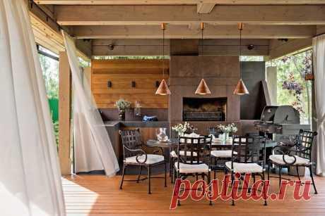 Модные и комфортные: 6 дизайнерских террас для идеального отдыха | SALON-interior | Яндекс Дзен