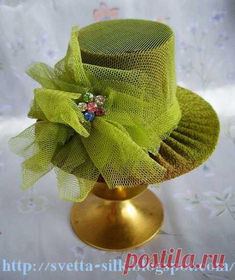 (2) Gallery.ru / Фото #47 - МК по изготовлению мини-манекенов. МК шляпки - anethka