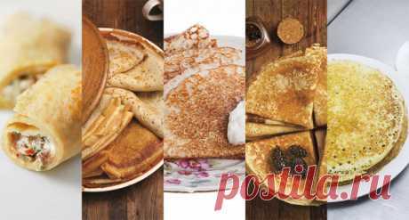 12 рецептов классических блинов – «Еда»
