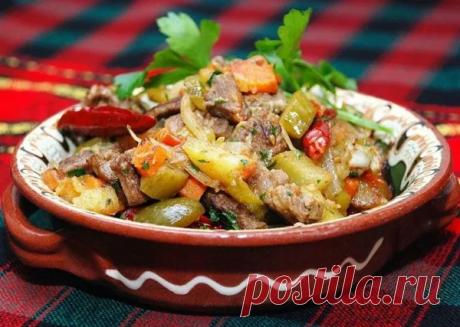 Азу по-татарски: полезный и вкусный весенний рецепт! Время приготовления:40 мин.