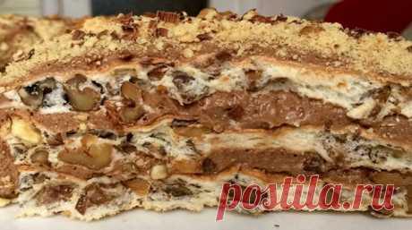 Королевский торт без муки - lublugotovit.me