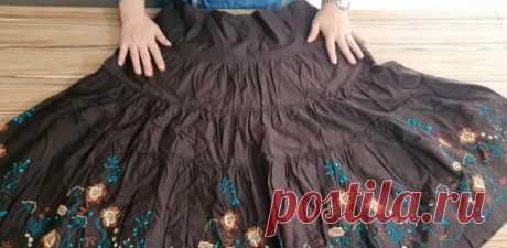 Перевоплощение устаревшей юбки