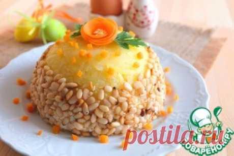 """Салат """"Пасхальный"""" с печенью и орехами - кулинарный рецепт"""