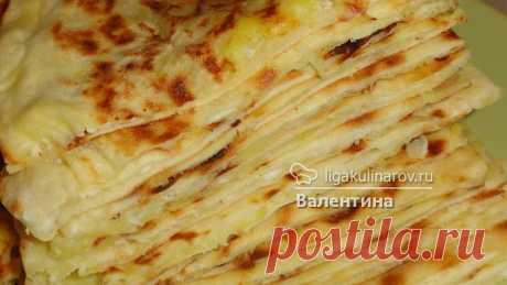 Дагестанские чуду с картошкой и сыром - рецепт с фото.