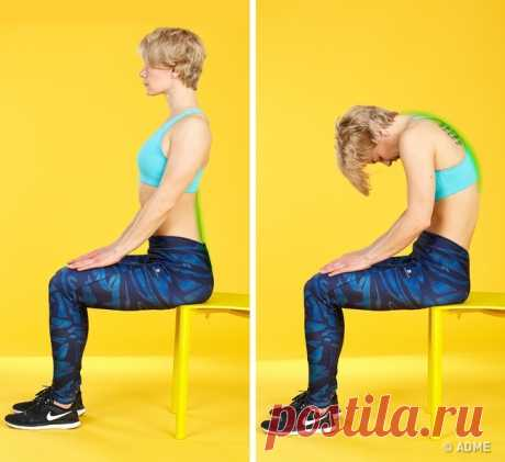 5 exercises for a back which create feeling that to you just made massage