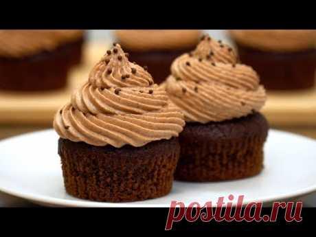 Шоколадные капкейки! Очень простой рецепт | Кулинарим с Таней