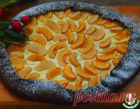 Шоколадная яблочная галета – кулинарный рецепт