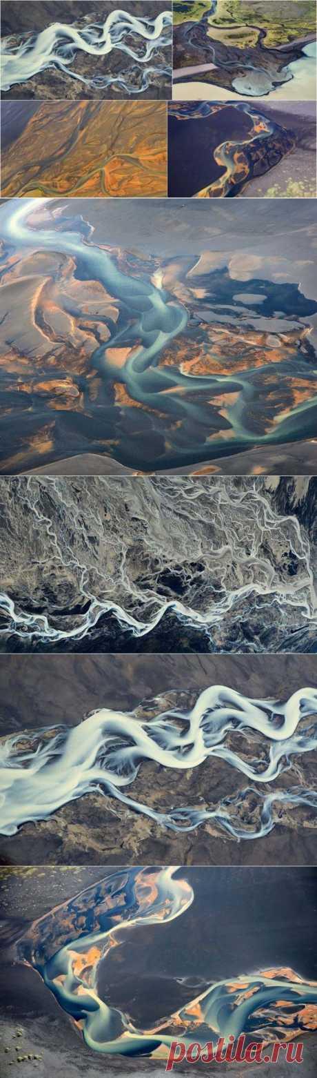 (+1) тема - Исландские реки – вид сверху   ТУРИЗМ И ОТДЫХ