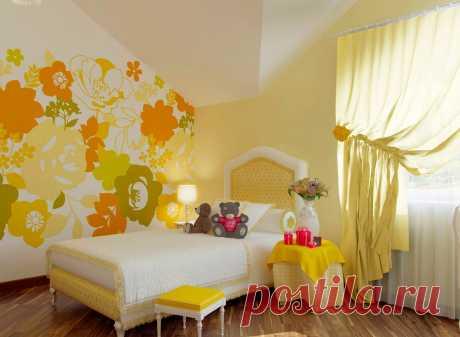 Желтый цвет в в интерьере дома: какие выбрать под него полы и обои, чтобы дизайн был стильным и элегантным узнайте на сайте Волгоград Stone Floor  #желтыйвинтерьере#желтыйпалитрыцветов#палитрыжелтого#счемсочетатьжелтый#Волгоград#Stonefloor#желтыйввкомнате