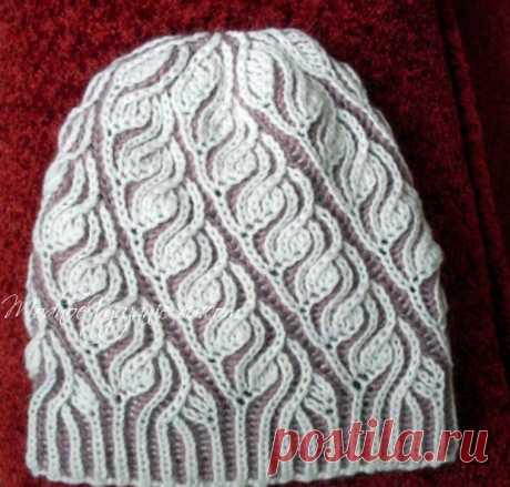 Вязание шапки бриошь из категории Интересные идеи – Вязаные идеи, идеи для вязания