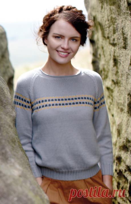 Вязаный пуловер Blenny | ДОМОСЕДКА