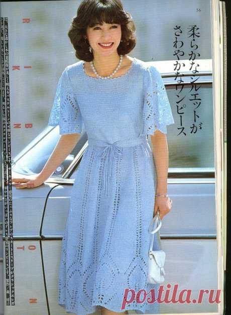 Gentle dress spokes