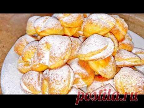 Творожное печенье как в детстве, лакомство из творога |Danutax