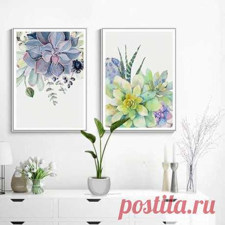 What better way to give your home that eternal spring feeling than with these stunning Botanical Art Prints. Bring the outside in and transform your home into a stylish tropical haven. Forget cheap…