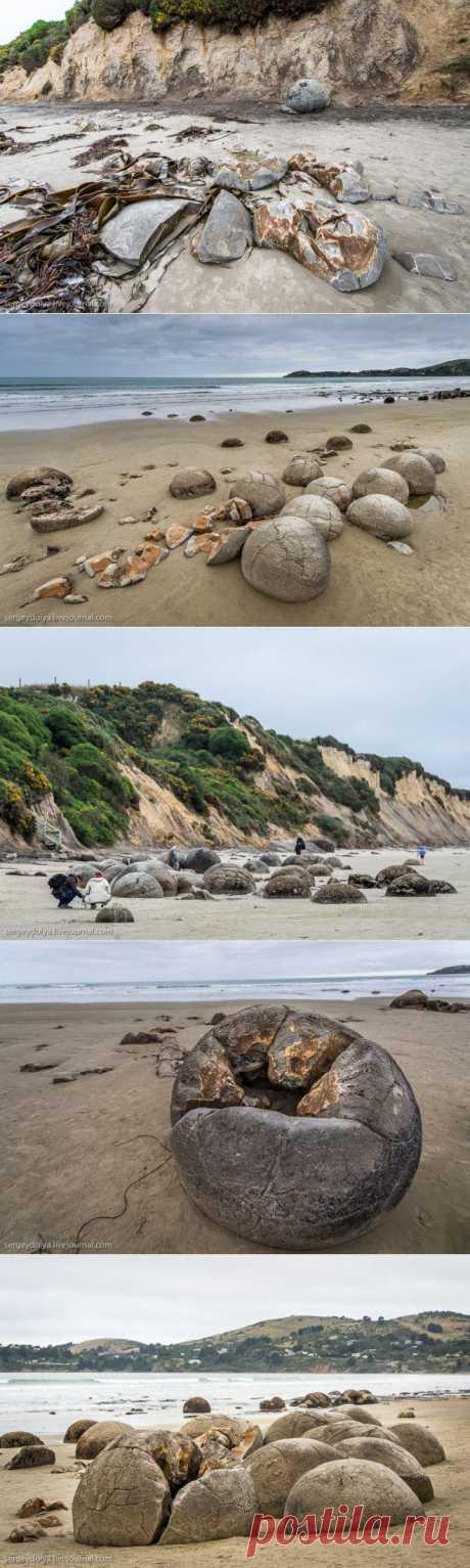 (+1) тема - Огромные валуны на пляже Коехохе   Непутевые заметки