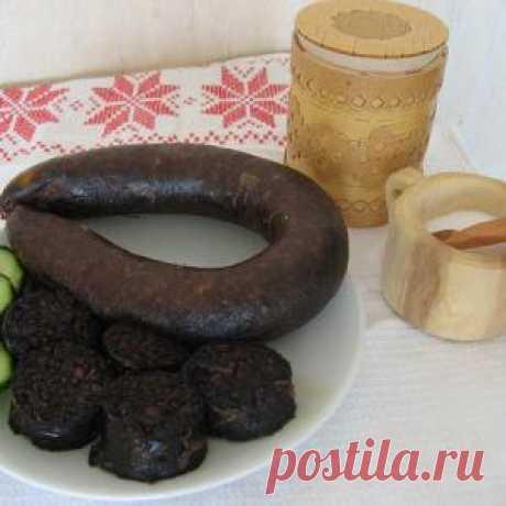 Виртырем (кровяные колбаски) - рецепт с фото