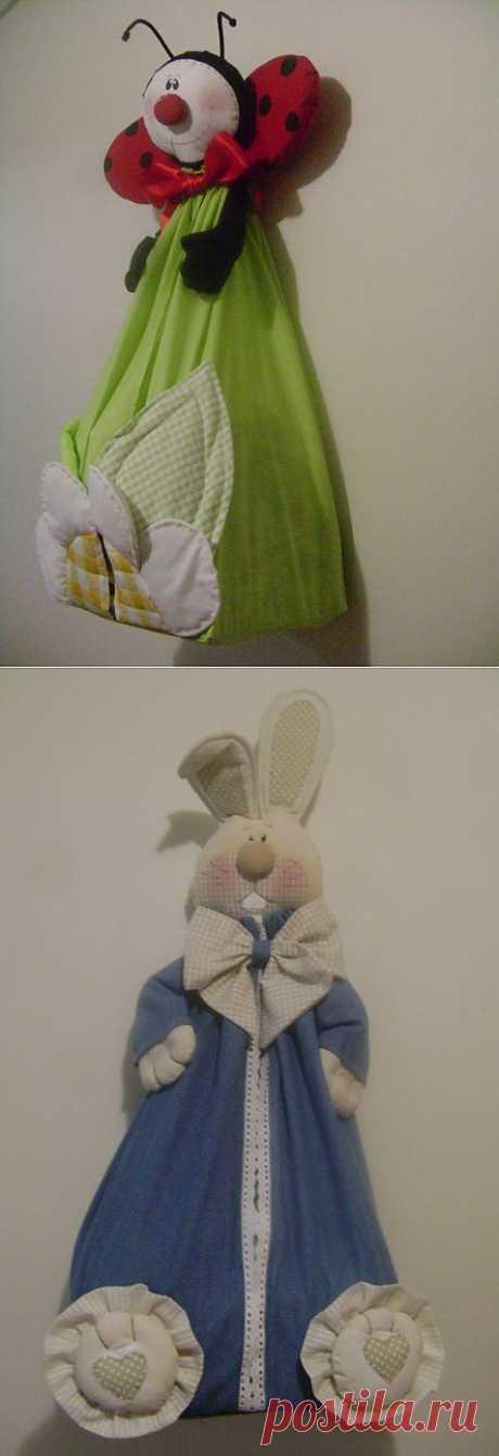 Позитивные мешочки! Такие мешочки можно сшить нашим малышам в детскую, положив туда памперсы и всякую другую мелочь, кому как захочется...